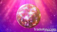 LED Disco Lighting Glass