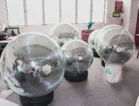 Giant silver disco ball mirror ball for sale with diameter 100cm 40 inch one year warranty