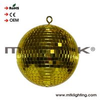 Colorful disco ball mirror ball with diameter 10cm 4 inch plastic core inner material