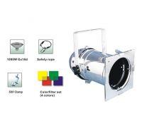 Stage Lighting PAR64 Long nose 1000W Black / Chrome PAR CANS Aluminium Construction
