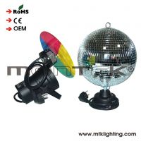 Hot selling small stepper motor control dmx mirror ball for wedding stage