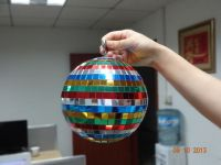 Shenzhen party decorations garden mirror ball ornaments with diameter 30cm 12inch different sizes