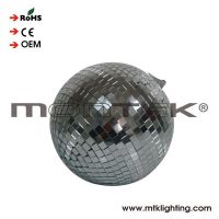 Factory disco lights mirror ball with diameter 10cm 4inch floating mirror ball CE certificate