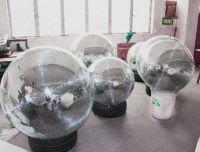 MOUNTECK big disco lights mirror ball with diameter 100cm fiberglass core inner material