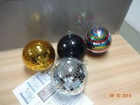 Diameter 15cm 6inch disco lights mirror ball with plastic core inner material floating mirror ball