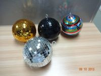 Hot sale led rotating disco mirror ball with diameter 20cm plastic core inner material