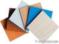 plywood, particle board, MDF, OSB, engineered wood