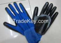 nitril dipped glove/working glove