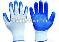 Nitril dipped glove