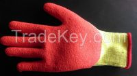 latex dipped working glove
