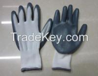 45g nitril dipped glove