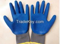 safety latex working glove