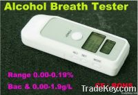 LCD breath alcohol tester