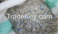 HDPE flakes Natural color