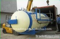 Tire retreading machine-curing chamber