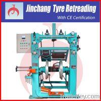 Tire retreading machine-Tire builder