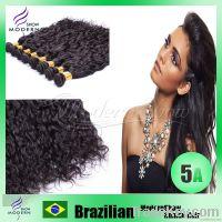 Brazilian Virgin hair extension Unprocessed Human hair  Natural Wave