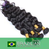 Human hair Brazilian Virgin Hair Factory Price natural color