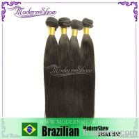Brazilian Hair Bundles, Silky Straight Wave, 100% Virgin Human Hair,