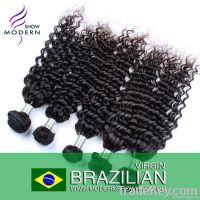 Unprocessed Brazilian Virgin deep curly Hair
