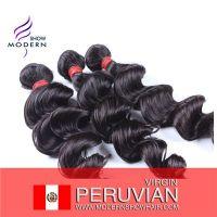 Unproessed Human Virgin Peruvian Hair