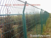 PVC highway fence