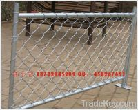hot dip gavalnized Chain link fence with 0.5-5.0mm wire diameter