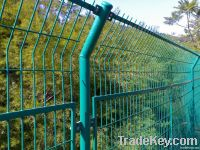 factory price welded wire mesh fence, galvanized mesh fence