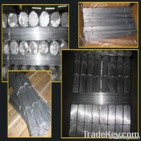 straight cut wire galvanized/black annealed
