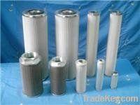 hydraulic oil filter element