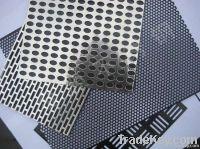 punching metal sheet
