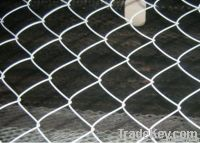 chain link mesh fence, farm fence, playgound fence