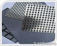 Perforated metal sheet/punched metal sheet