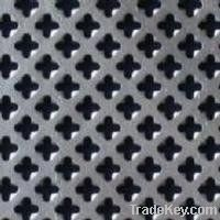 perforated/punched metal sheet
