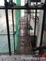 scaffolding steel plank with hole / scaffolding walking platform