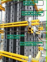 adjustable scaffolding steel beam formwork for column wall and steel b