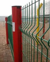 Welded Wire Mesh fence( Green PVC Coated wire mesh Fence)