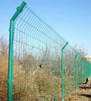garden Welded Wire Mesh fence( Green PVC Coated wire mesh Fence)