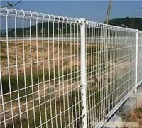 pvc-coated double circle garden/flower bed fence , airport fence