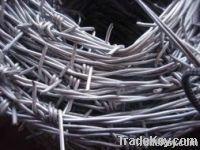 Galvanized barbed wire/ barbed wire/ barbed wire fence