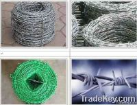 barbed wire ( galvanzied and pvc coated)