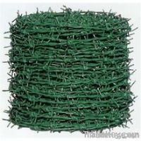 Galvanized / pvc barbed wire
