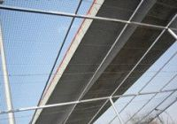 PVC Welded wire mesh fence panels in 12 gauge sizes
