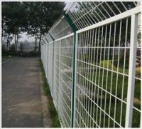 PVC/galvanized  Welded wire mesh fence panels in 12 gauge sizes