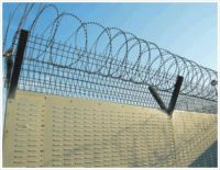 galvanized bared wire /bared wire / bared wire fence