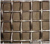 galvanized barbecue crimped wire mesh
