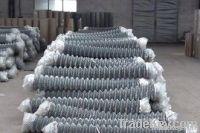 stainless steel or PVC coated chain link fence for sale