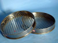 Standard sieve woven wire mesh sifter stainless steel sieve