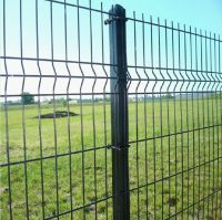 China Steel welded wire mesh fencing with plastic or steel clip