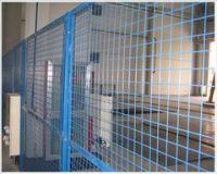 Workshop isolation mesh fence